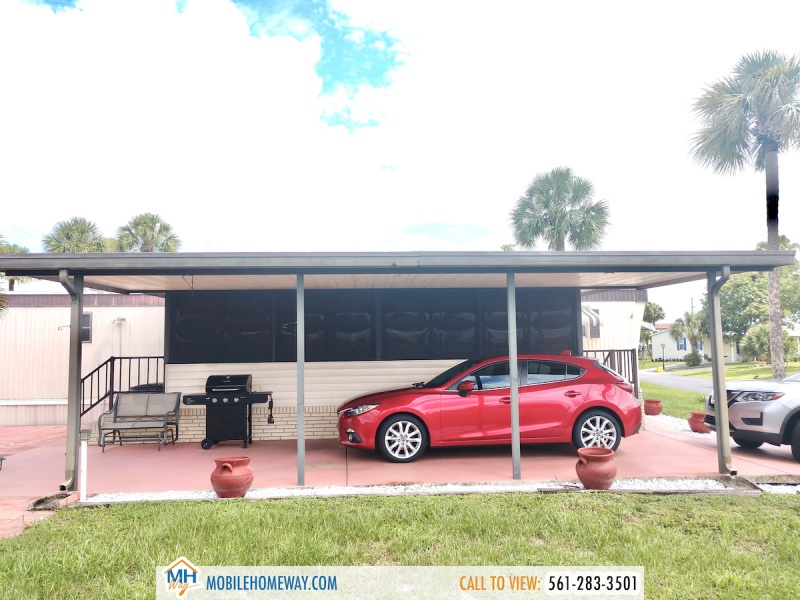 7436 43rd Drive North #585, Riviera Beach, Florida 33464, ,Mobile Home (In Park),For Sale,43rd Drive North #585,1055
